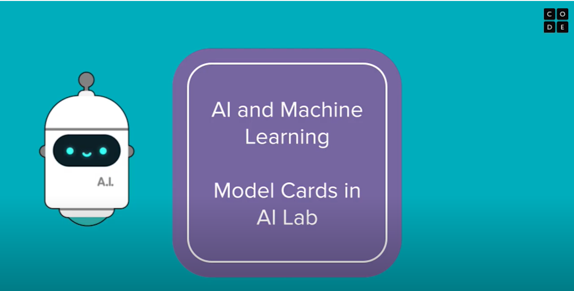 Model Cards in AI Lab